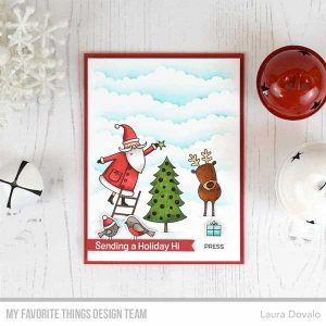 My Favorite Things Joyous Holidays Stamp class=