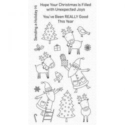 My Favorite Things Joyous Holidays Stamp