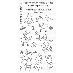 My Favorite Things Joyous Holidays Stamp
