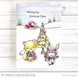 My Favorite Things Christmas Cheer Stamp