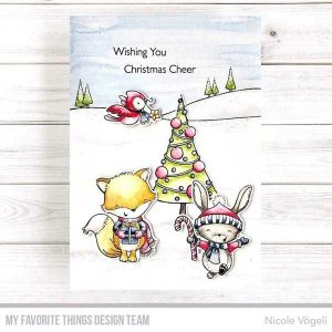 My Favorite Things Christmas Cheer Stamp class=