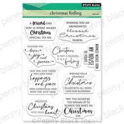 Penny Black Christmas Feeling Stamp Set