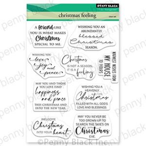Penny Black Christmas Feeling Stamp Set