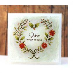 Penny Black Heart Christmas Stamp Set
