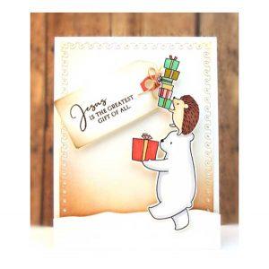 Penny Black Santa's Crew Stamp Set class=