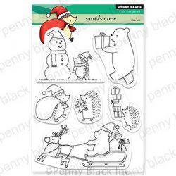 Penny Black Santa's Crew Stamp Set