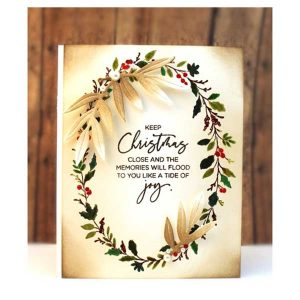 Penny Black Wreath & Wings Stamp Set class=