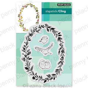 Penny Black Wreath & Wings Stamp Set