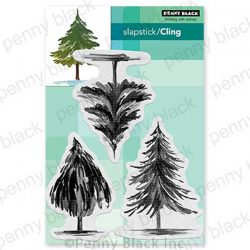 Penny Black Tannenbaum Trio Stamp Set