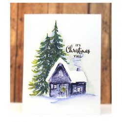 Penny Black Cozy Cabin Stamp Set