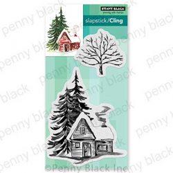 Penny Black Cozy Cabin Stamp Set