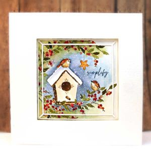 Penny Black Birdhouse Blessings class=