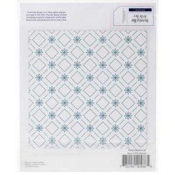 Pinkfresh Studio Floral Diamond Stamp