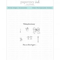Papertrey Ink & The Foiled Fox Winter Magic: Accessories Mini Stamp Set