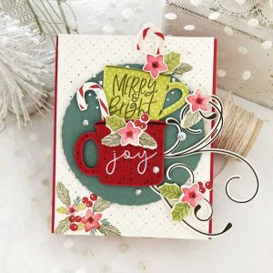 Papertrey Ink Corner It: Holly Stamp Set class=