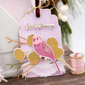 Papertrey Ink Feathered Friends Mini 5 Stamp class=