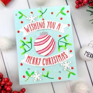 Papertrey Ink Ornament Greetings Stamp class=