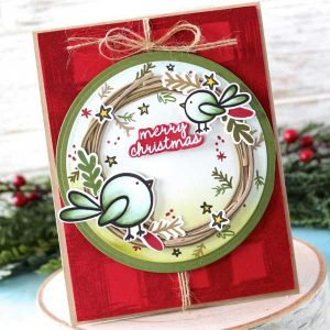 Papertrey Ink Joyous Holiday Stamp class=