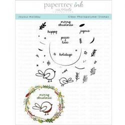 Papertrey Ink Joyous Holiday Stamp