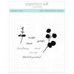 Papertrey Ink Leaves In Fall Stamp