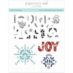 Papertrey Ink Folky Holiday Stamp