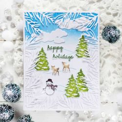 Papertrey Ink Sweet Scenes: Winter Stamp