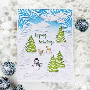 Papertrey Ink Sweet Scenes: Winter Stamp class=