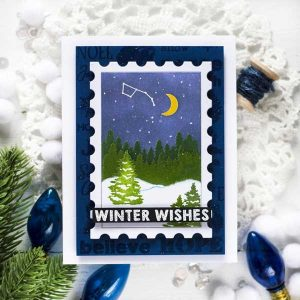 Papertrey Ink Holiday Spirit Stamp class=
