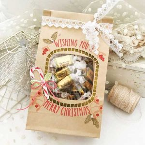 Papertrey Ink Bag-It Holiday Stamp class=