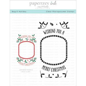 Papertrey Ink Bag-It Holiday Stamp