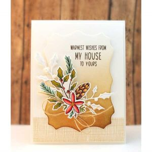 Penny Black Heart Christmas Cut Out Creative Dies class=
