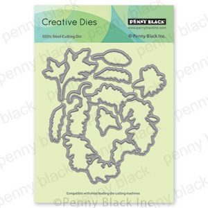 Penny Black Heart Christmas Cut Out Creative Dies