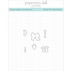 Papertrey Ink & The Foiled Fox Winter Magic: Accessories Die