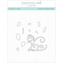 Papertrey Ink Corner It: Holly Die
