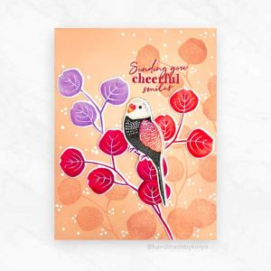 Papertrey Ink Feathered Friends Mini 5 Die class=