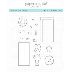 Papertrey Ink Holiday Door Decor Die