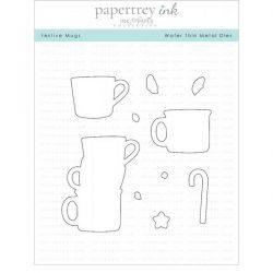 Papertrey Ink Festive Mugs Die