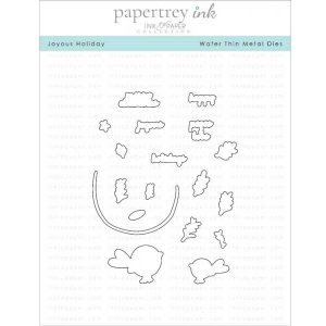 Papertrey Ink Joyous Holiday Die