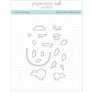 Papertrey Ink Joyous Holiday Die