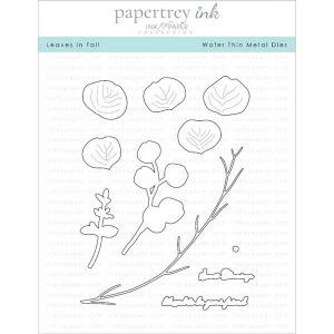 Papertrey Ink Leaves In Fall Die