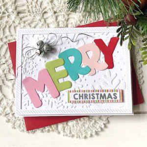 Papertrey Ink Merry Alphabet Die class=