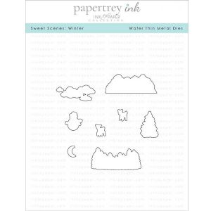 Papertrey Ink Sweet Scenes: Winter Die