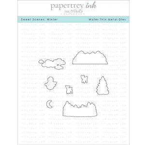 Papertrey Ink Sweet Scenes: Winter Die