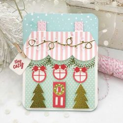 Papertrey Ink Tent Style Packaging: Holiday House Die