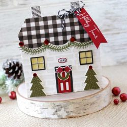 Papertrey Ink Tent Style Packaging: Holiday House Accessories Die