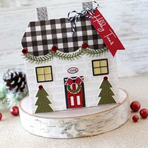 "Papertrey Ink Tent Style Packaging: Holiday House Accessories Die <span style=""color:red;"">Reserve – more on the way</span> class="