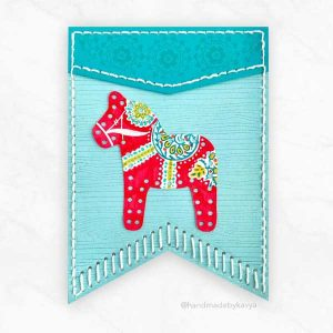Papertrey Ink In Stitches: Banner Accessories Die class=