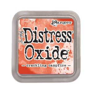 Tim Holtz Distress Oxide Ink Pad - Crackling Campfire class=