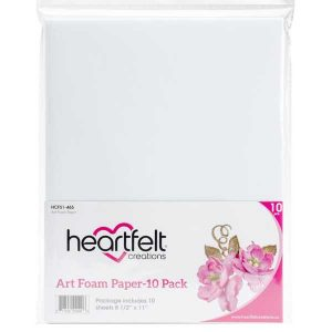 "Heartfelt Creations Art Foam Paper 8.5""X11"" 10/Pkg"