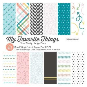 "My Favorite Things Road Trippin' Paper Pad - 6"" x 6"""